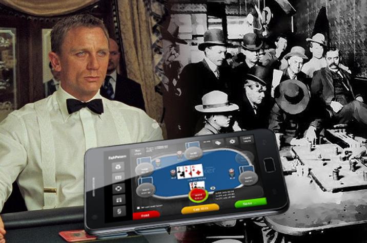 Perbandingan-Perjudian-Poker-Dulu-dengan-Poker-Online-Modern